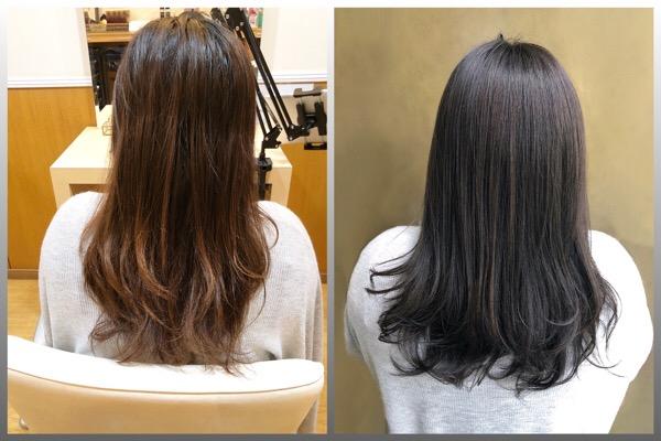 計画的な縮毛矯正でキレイなストレートヘアをキープ【北千住 上野 縮毛矯正 】