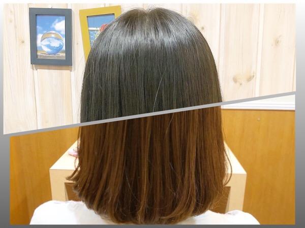 まとまりのある艶髪はストカールと定期的なメンテナンスでキープ出来る 【 北千住 縮毛矯正 パーマ 】