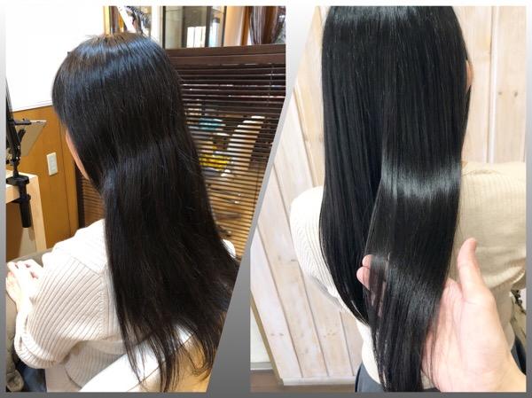 『髪質が変わった』その原因をしっかりと理解して適切なケアがキレイな髪の近道です 【 北千住 トリートメント 髪質改善 】