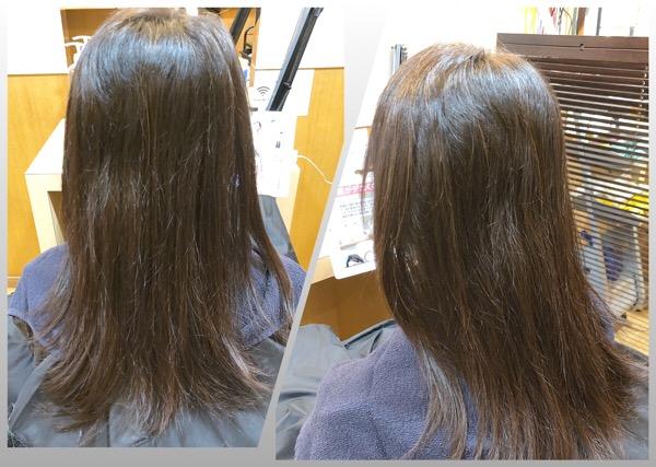 癖で髪が広がりやすいけど、乾かすだけで艶とまとまりのあるパーマをかけたい人が願いを叶える方法 【北千住 縮毛矯正 ストカール 】