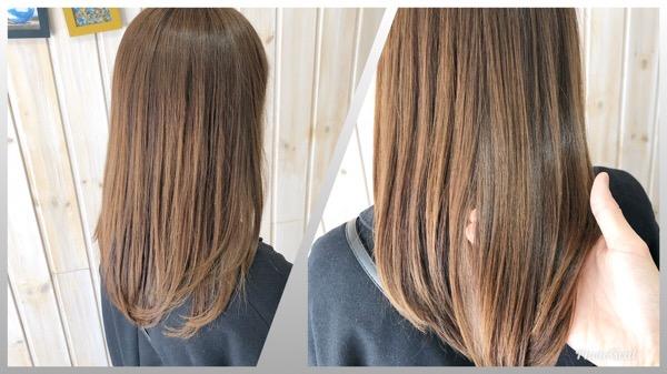 冬の乾燥でパサつき・広がりやすい髪をハリコシのあるしなやかな質感へ 【北千住 上野 トリートメント 髪質改善 】