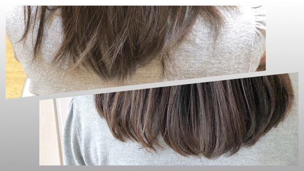 ポワポワするブリーチ毛を柔らかなワンカールへ  【 上野 北千住 縮毛矯正 ストカール 】
