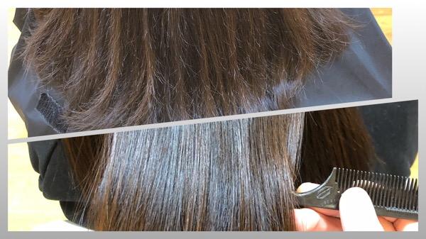 パサつき、広がりを解消して毛先までサラツヤなカールスタイル  【北千住 上野 縮毛矯正 パーマ 】