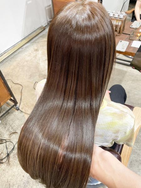 髪質改善アフター